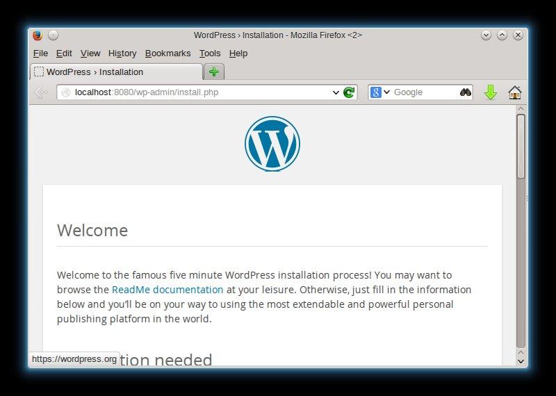 Zero to Wordpress on Docker in 5 Minutes